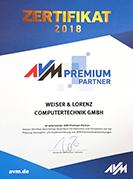 Wir sind AVM Premium-Partner