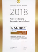 Wir sind Lancom Gold-Partner