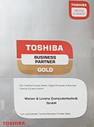 Wir sind Toshiba Business-Partner