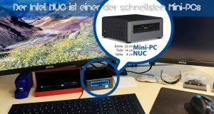 Der Intel NUC ist einer der schnellsten Mini-PCs