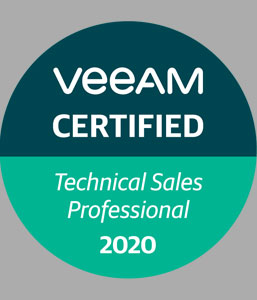 VEEAM Technical Sales Professional Partner