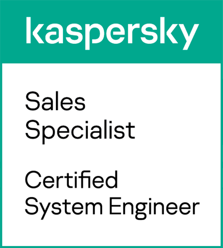 Kaspersky Sales Specialist // Certified System Engineer
